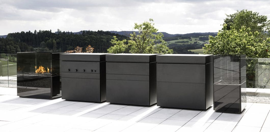 modulare outdoork che rock air kochen bei jedem wetter. Black Bedroom Furniture Sets. Home Design Ideas
