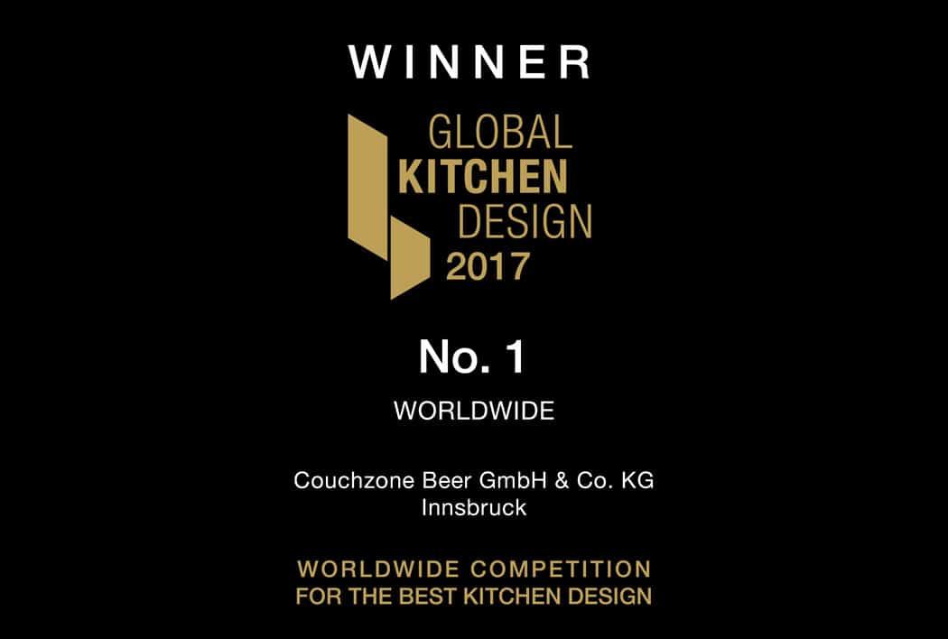 Gewinner des LEICHT Global Kitchen Design Award 2017 ist die Couchzone aus Innsbruck - damit setzt sich das Studio gegen hunderte Einreichungen von hochwertigen Küchenentwürfen weltweit durch. Wir gratulieren!