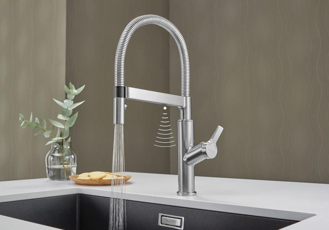 Die Blanco Solenta S: Wasserlauf Per Sensor Auslösen