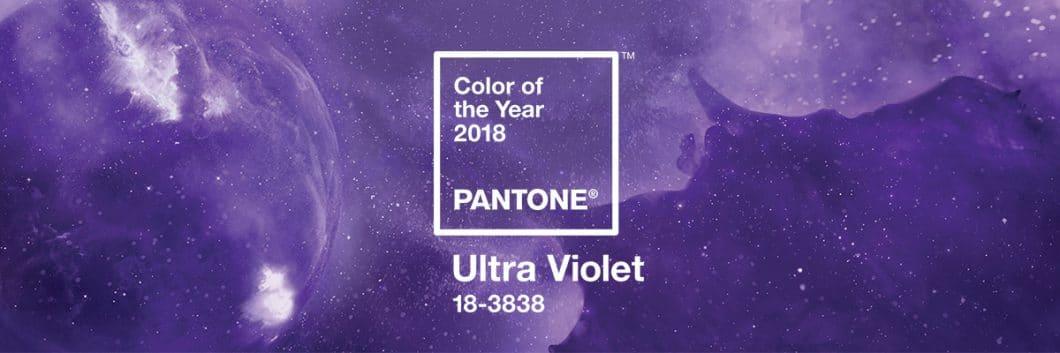 """Die Farbe des Jahres 2018 ist """"Ultra Violet"""" - zumindest, wenn es nach Pantone geht. Die Farbe ist wunderbar stark, allerdings schwer zu kombinieren. (Foto: Pantone)"""