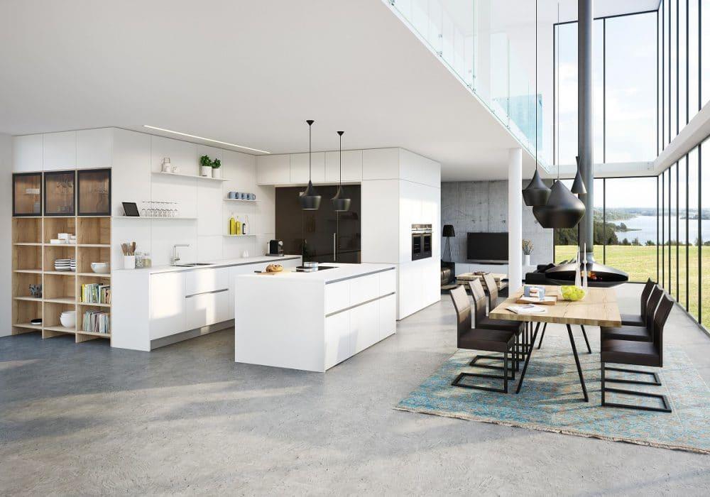 ewe-Küchen sind modern, ästhetisch und vor allen Dingen: funktional. Erkunden Sie die ewe-Küche vor Ort mit all Ihren 5 Sinnen! (Foto: ewe)