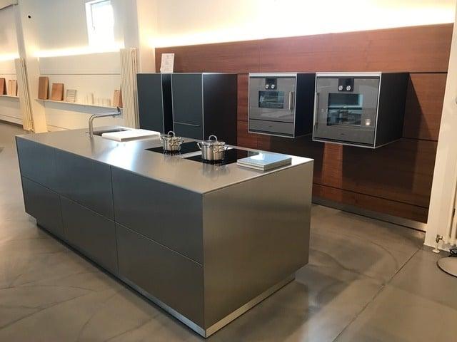 Bulthaup Einbauküche in Edelstahloberfläche Von Küchen Dross&Schaffer in Ingolstadt