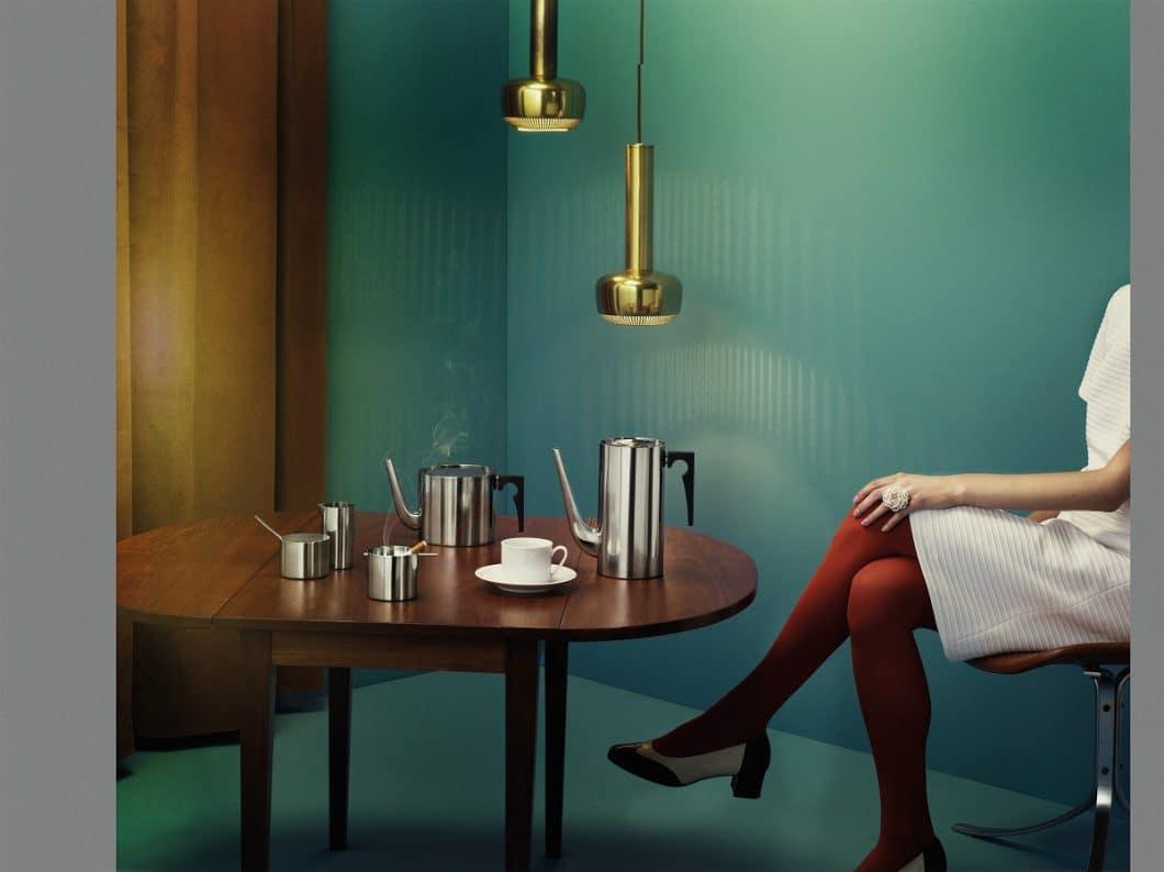 Eine Erinnerung an frühere Zeiten: Schon 1963 landete Stelton mit dem Kaffeeservice einen internationalen Verkaufsschlager. (Foto: Stelton)