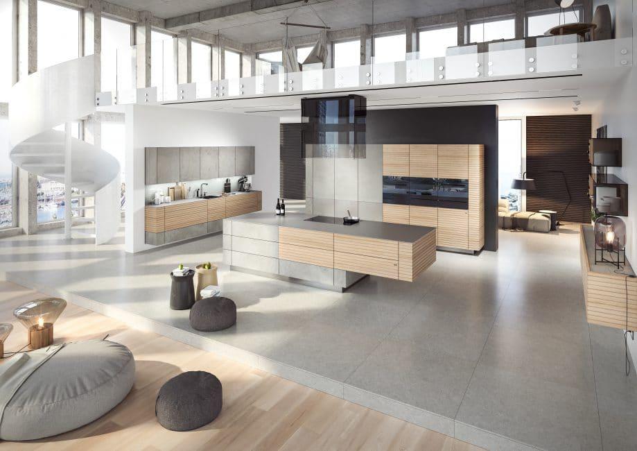 Beton in der Küche - Fotogalerie - KüchenDesignMagazin