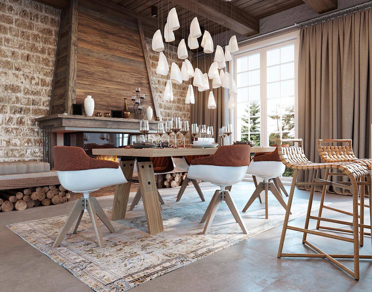 Rustikales Esszimmer Gestalten : Rustikale esszimmer küchendesignmagazin lassen sie sich inspirieren