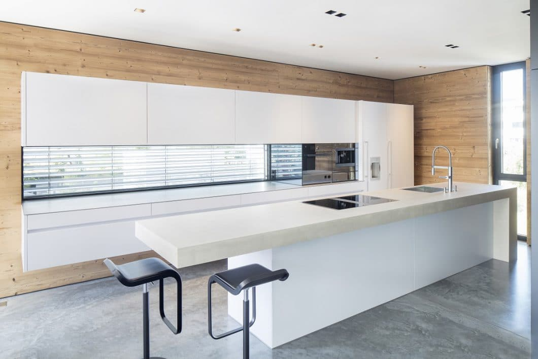 Beste Küchendesign Mit Schwarzen Geräten Galerie - Küchenschrank ...