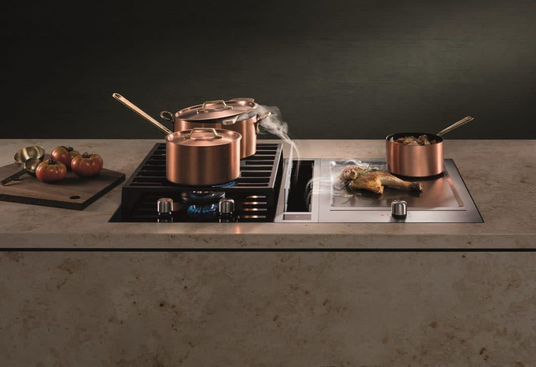 Welche Neuigkeiten für Küchengeräte haben die Elektrogerätehersteller auf der EuroCucina 2018/19 in Mailand präsentiert? Wir bieten Ihnen querfeldein einen prägnanten Überblick. (Foto: BORA)