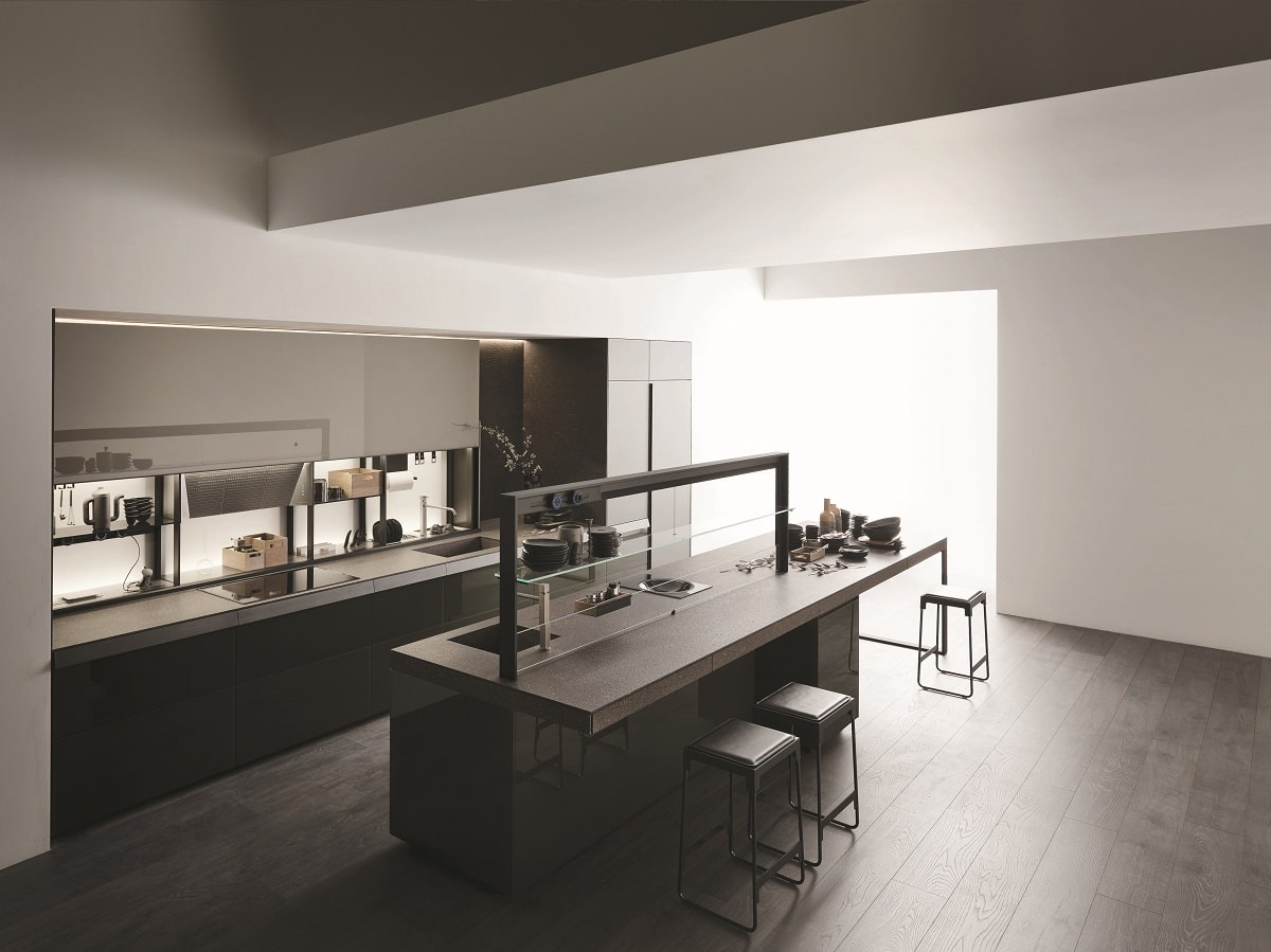 valcucine auf der eurocucina neue fronten f r alle modelle. Black Bedroom Furniture Sets. Home Design Ideas