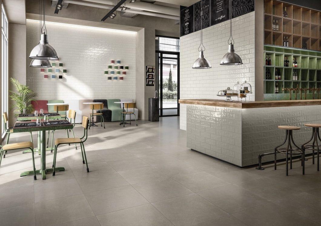 Küchenfliesen in Stein-, Holz- und Betonoptik als Stilelement