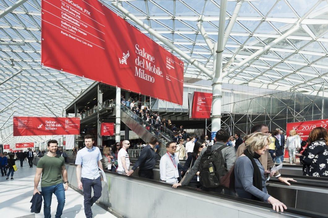 Auf der diesjährigen Möbelmesse Salone del Mobile vom 17. bis 22. April werden - einschließlich der Küchenmesse EuroCucina - rund 400.000 Besucher erwartet. (Foto: Alessandro Russotti)