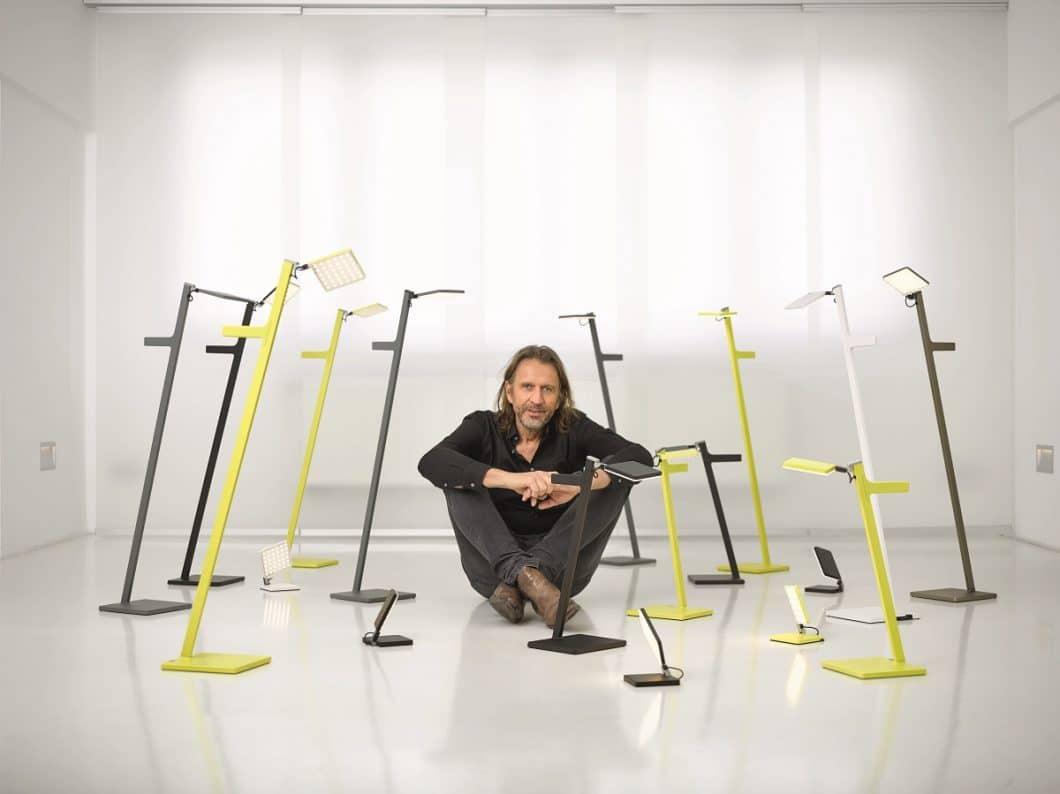 Architekt Dietrich F. Brennenstuhl entwickelte sein Unternehmen Nimbus aus einer Garage heraus. Der derzeitige Fokus liegt auf einer kabellosen Leuchten-Serie. (Foto: Nimbus Group)