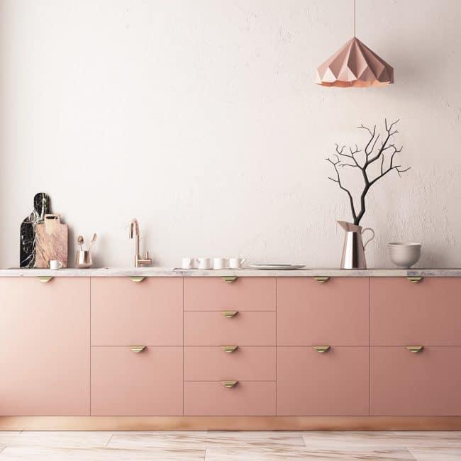 Rosé-Küchen - KüchenDesignMagazin-Lassen Sie sich inspirieren