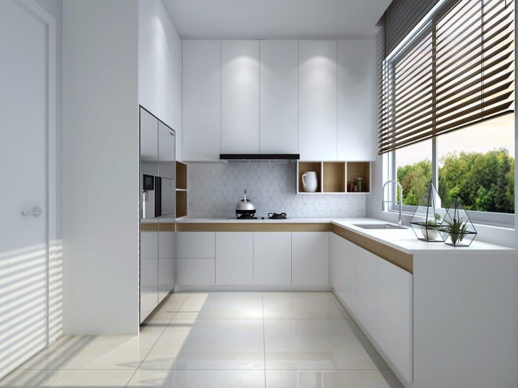Klare Strukturen und Geradlinigkeit - ohne viel Schnörkel und Schnickschnack - zeichnen Einrichtungsobjekte des Wabi Sabi aus. Wem das zu kühl ist, kann den Raum mit warmen Wollgardinen, Kissen, Stoffen oder sanfter Farbe ergänzen. (Foto: Qide Design)