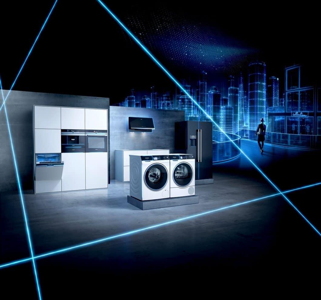 """Die Vernetzung aller Geräteneuheiten untereinander sowie mit den Angeboten ausgewählter Partner spielt eine große Rolle in der Siemens """"Connected City"""". (Foto: Siemens)"""