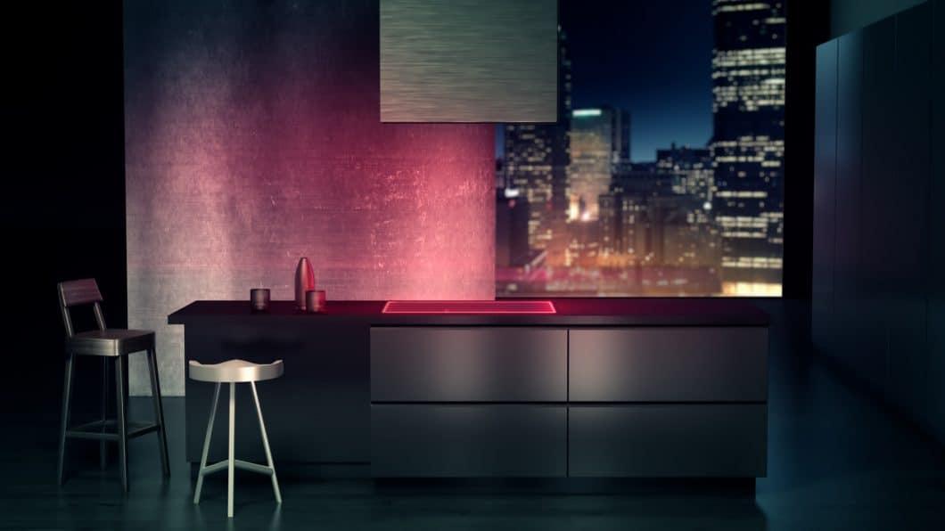 Stimmungsvolles Licht kreiert das SCHOTT EXCITE®-Lichtsystem allemal. Es soll aber auch funktionale Aufgaben erfüllen. (Foto: SCHOTT)