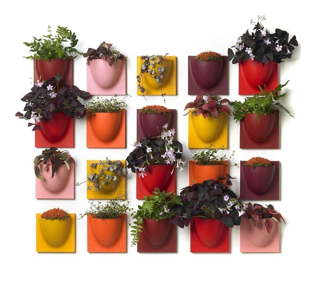 """Der ursprüngliche Ansatz des Unternehmens waren die """"VertiPlants"""": Küchenkräuter und -pflanzen platzsparend in den Küchenraum zu integrieren. Bisher weitgehend unbenutzt: die Küchenwand! (Foto: Verti Copenhagen)"""