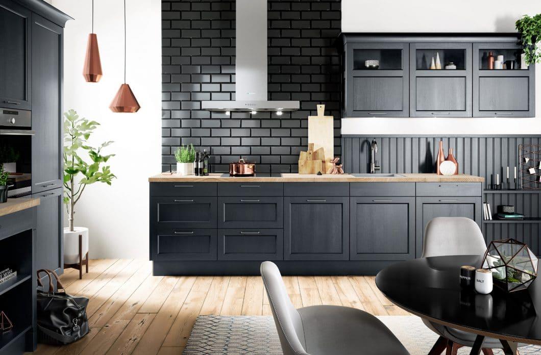 Die Küchentrends 2019 Viel Holz Viel Schwarz Viel Stauraum