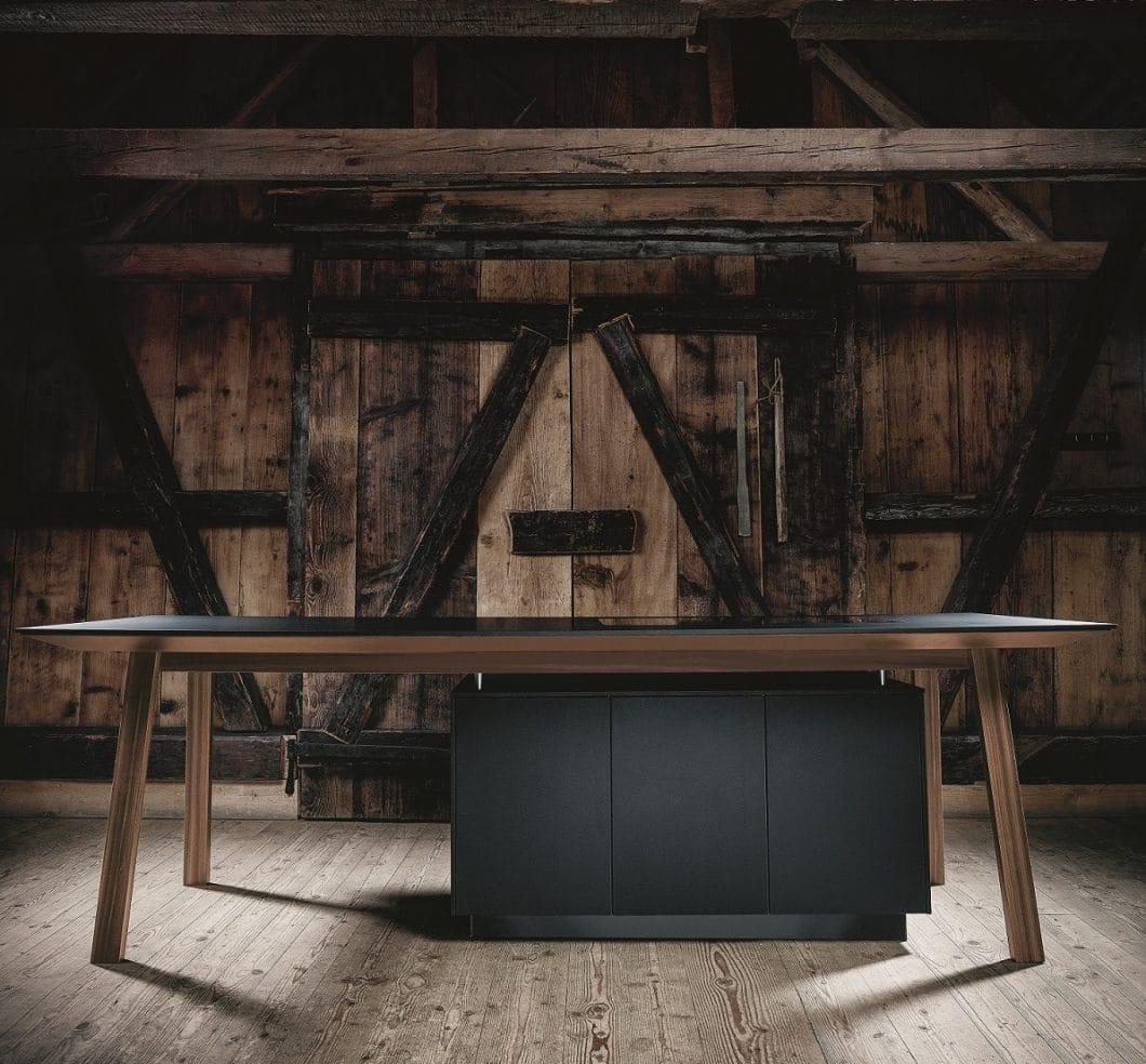 die k chentrends 2019 viel holz viel schwarz viel stauraum. Black Bedroom Furniture Sets. Home Design Ideas