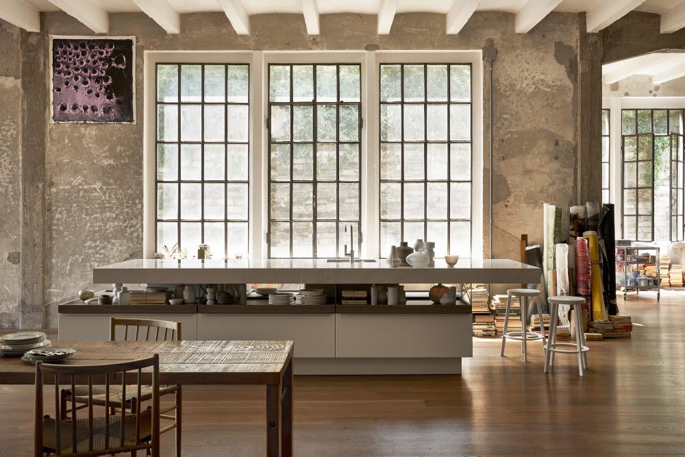 Poggenpohl +MODO ist ein Küchenmodell für die Kreativen und Kochliebhaber, die viel Platz zum Kochen und Kochutensilien als Designobjekt zu schätzen wissen. (Foto: Poggenpohl)