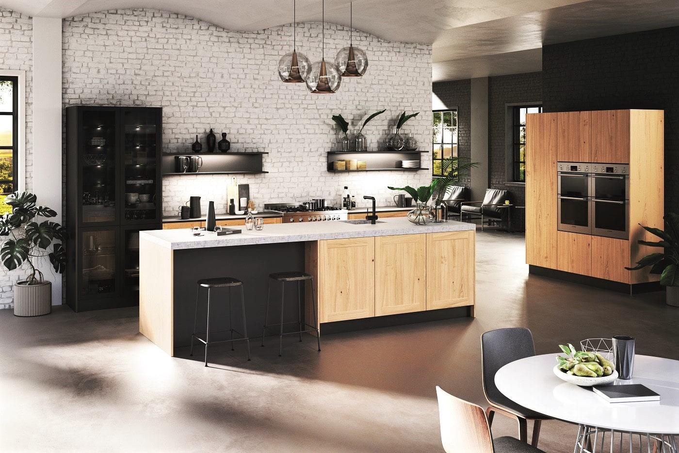 Der Underdog aus Ostwestfalen: Rotpunkt-Küchen sind bisher kaum namentlich bekannt, dafür optisch umso schöner - und technisch auf dem neuesten Stand. (Foto: Rotpunkt)
