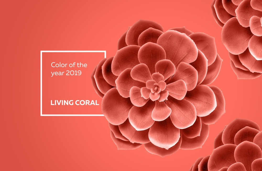 <em>Das fröhliche Korallenrot spende Energie und belebe auf sanfte Art, begründet Pantone die Entscheidung. (Quelle:Alexei Zatevakhin/Shutterstock)</em>