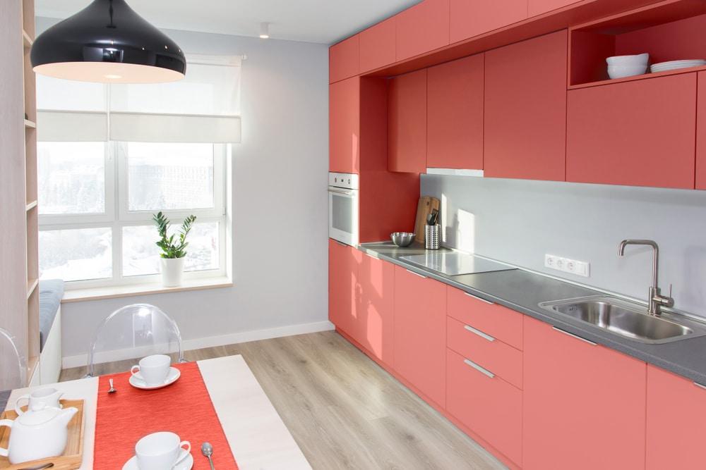 <em>Die Farbe Rot soll den Appetit anregen, was den Einsatz von Living Coral in der Küche noch attraktiver macht.(Quelle:Alexei Zatevakhin/Shutterstock)</em>
