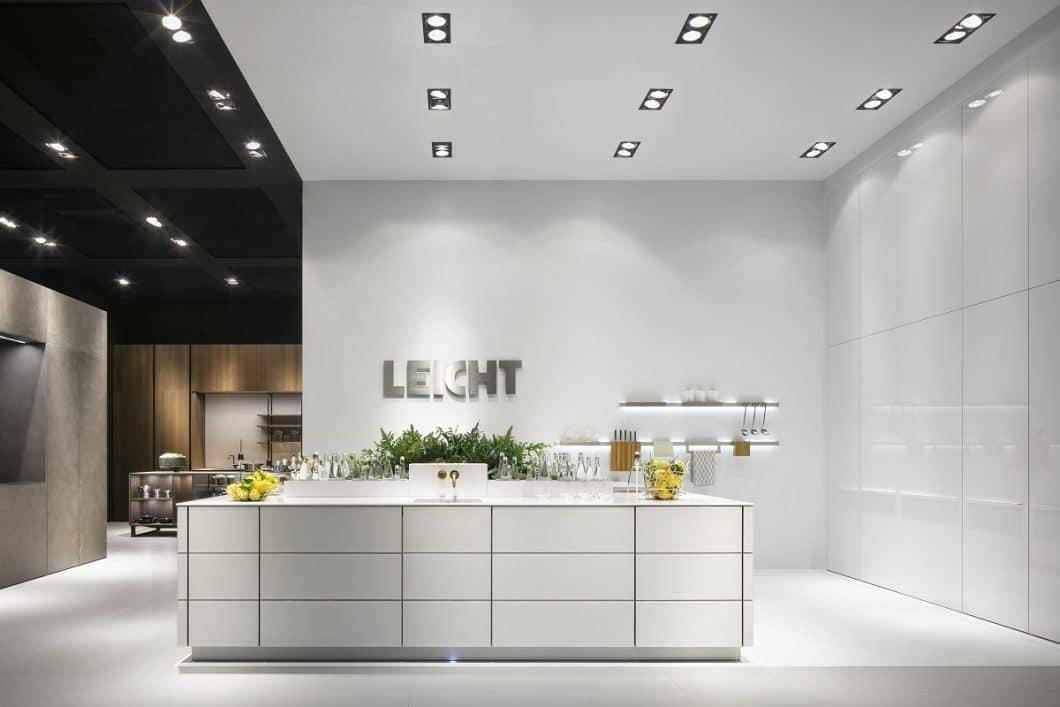 """LEICHT zeigte sich auf der LivingKitchen mit gleich 5 Versionen des zukünftigen """"Lebensraum Küche"""". GARDENING war eine davon. (Foto: LEICHT)"""