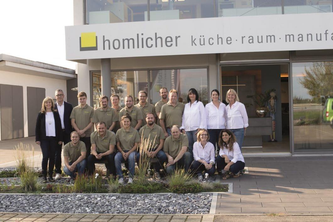 Das Team von Homlicher freut sich auf tolle Hausmesse-Tage mit Ihnen! (Foto: homlicher)