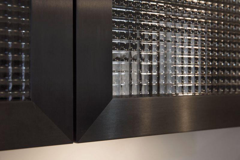 """Das sogenannte """"Quadrat Glass"""" wird gern im modernen Landhausstil eingesetzt. (Foto: Rotpunkt)"""