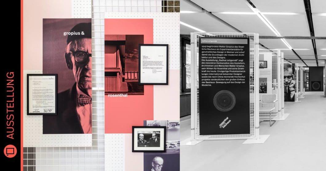 Die Ausstellung zu Rosenthal x Bauhaus kann ab dem 6. April 2019 jeden Samstag von 10-16 Uhr in den Rosenthal-Werken in Selb besichtigt werden. (Foto: Rosenthal)