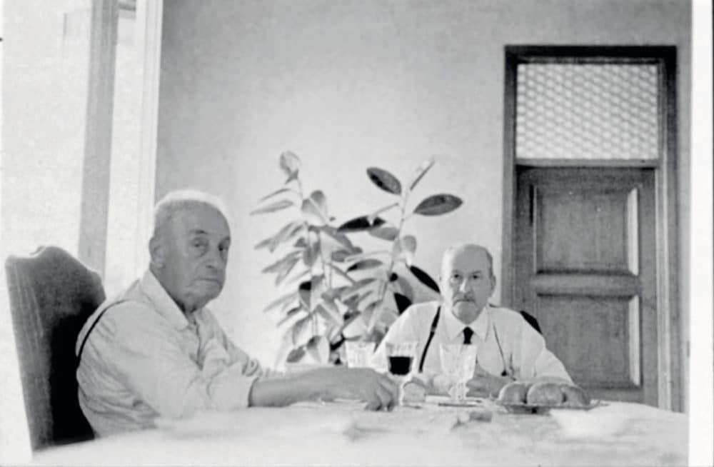 Alfonso Bialetti und Giovanni Alessi, Großvater des heutigen Alessi-Geschäftsführers Alberto Alessi - waren eng verbunden in ihrer Liebe für gutes italienisches Design. (Foto: Alessi Archive)