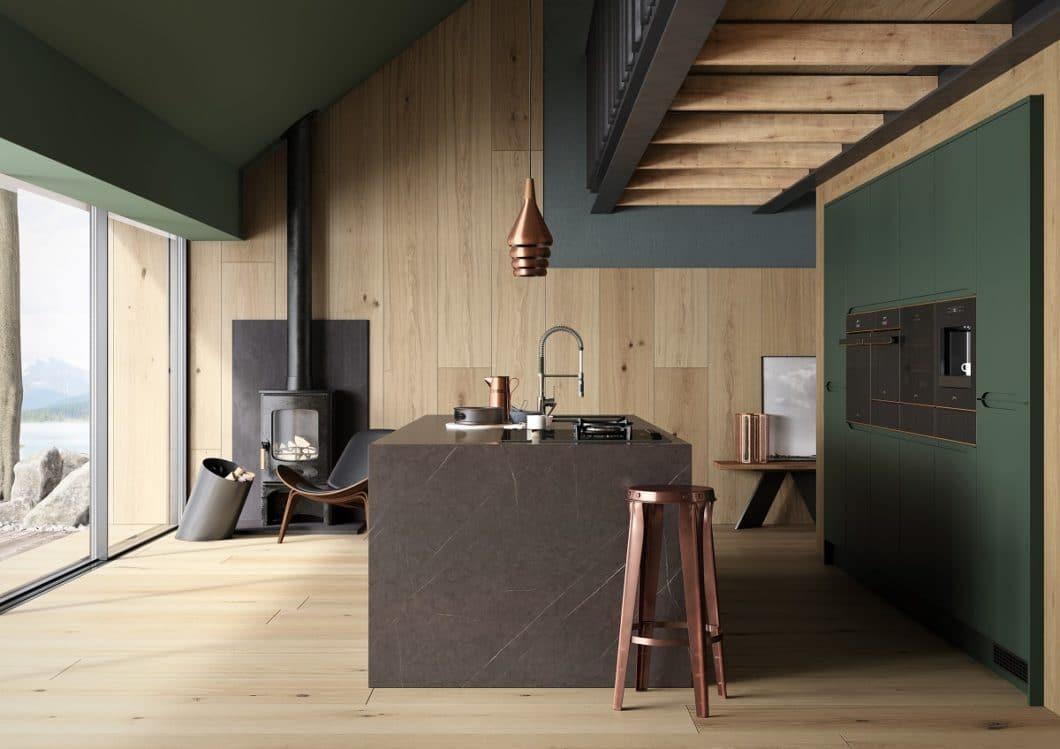 Elegant und ausdrucksstark fügen sich die Einbaugeräte der Linie DOLCE STIL NOVO von SMEG in den Küchenraum ein. Die Marke wird erwachsen. (Foto: SMEG)