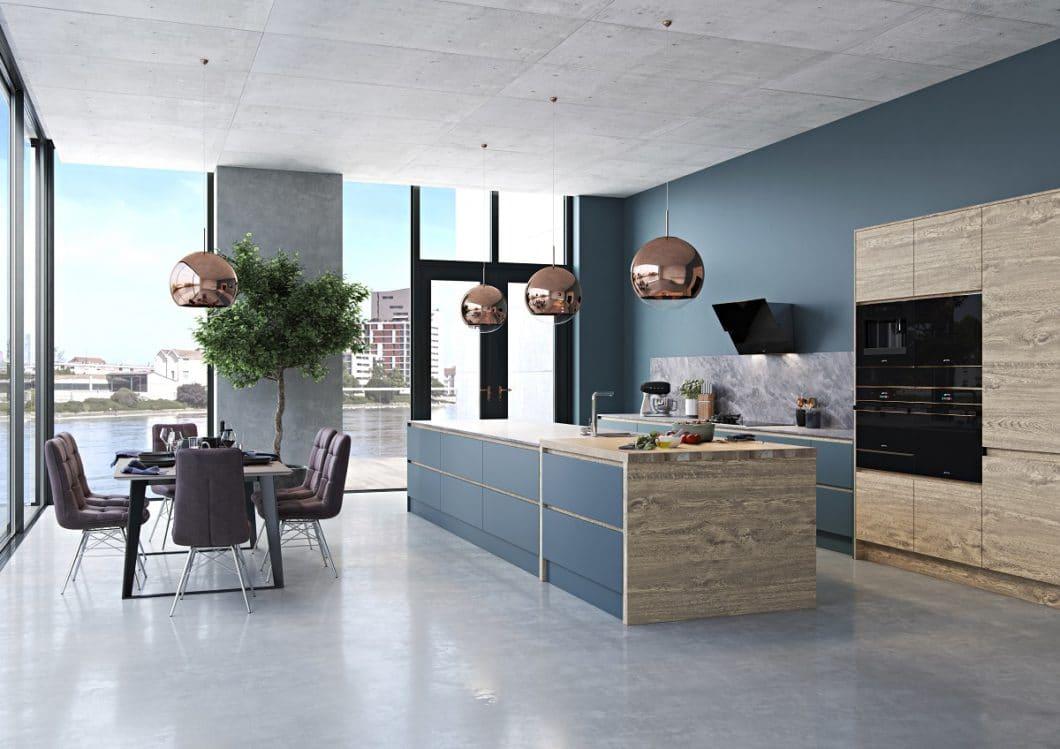SMEG zeigt mit der gesamten Kollektion DOLCE STIL NOVO, wie stilprägend Einbaugeräte auf den Küchenraum wirken können - und wie sich Schönheit in technischer Form definieren lässt. (Foto: SMEG)