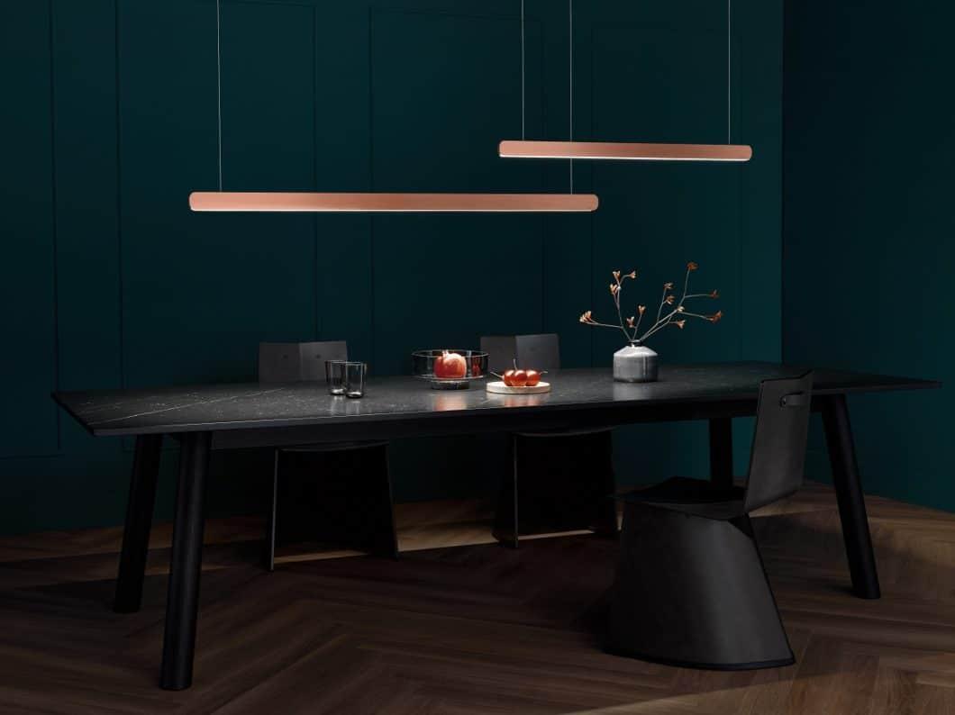 Die Occhio Mito linear ist ebenso elegant und ästhetisch designt wie die anderen Serienprodukte - allerdings viel geradliniger und puristischer. (Foto: Occhio)
