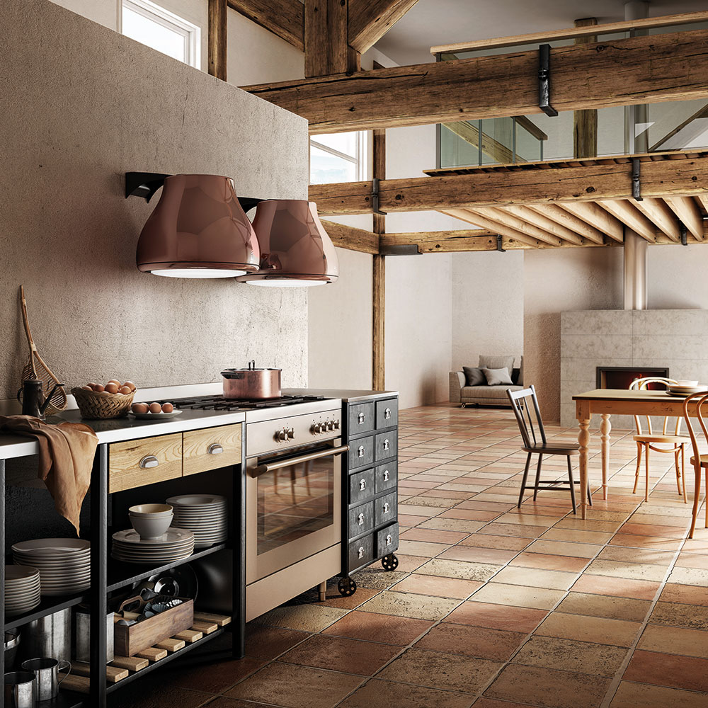 Ein hochwertiges Design im Küchenraum zeichnet sich auch durch moderne Geräte mit leiser Arbeitsweise aus - das macht die Küche wohnlich und zu einem angenehmen Aufenthaltsort. (Foto: Elica)