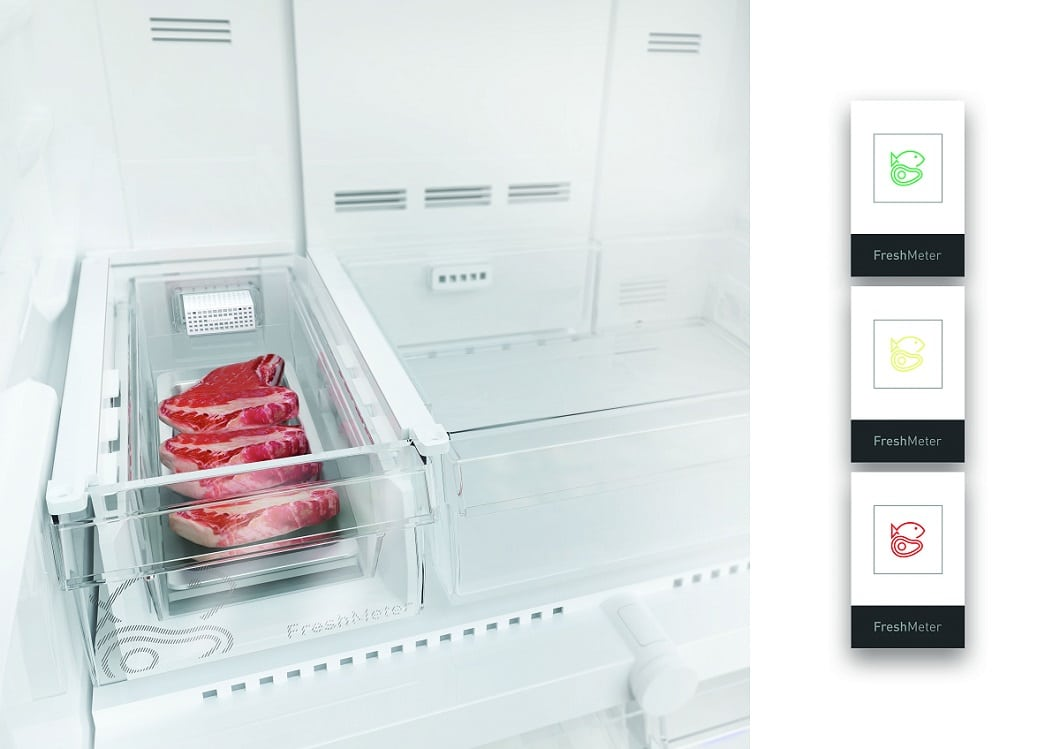 """Nutzen Sie die smarte Intelligenz moderner Küchengeräte! Die """"FreshMeter""""-Technologie von Grundig gibt Ihnen beispielsweise an, wann Sie Lebensmittel dringend verbrauchen sollten vor deren Ablaufdatum. Auch eine Methode, um nachhaltiger zu leben. (Foto: Grundig)"""