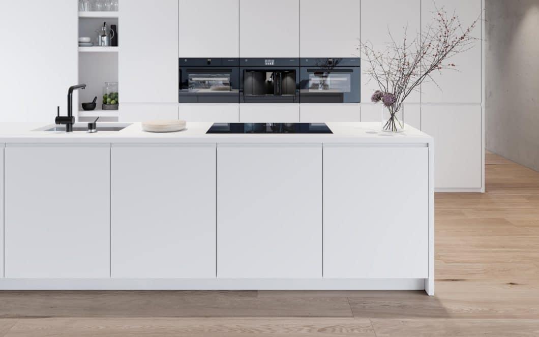 Moderne Küchengeräte unterstützen Nutzer mit intuitiven Grafiken und Geräuschen. Sensoren sorgen zusätzlich dafür, dass viele Koch- und Backprozesse nahezu automatisiert werden. (Foto: V-ZUG)