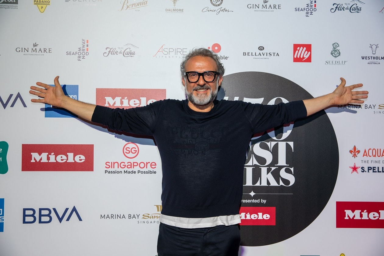 Massimo Bottura, Michelin-Sternekoch und Inhaber der berühmten Osteria Francescana, ist der Gründer der gemeinnützigen Organisation Food for Soul.. (Bild: 50 best restaurants oft he world)