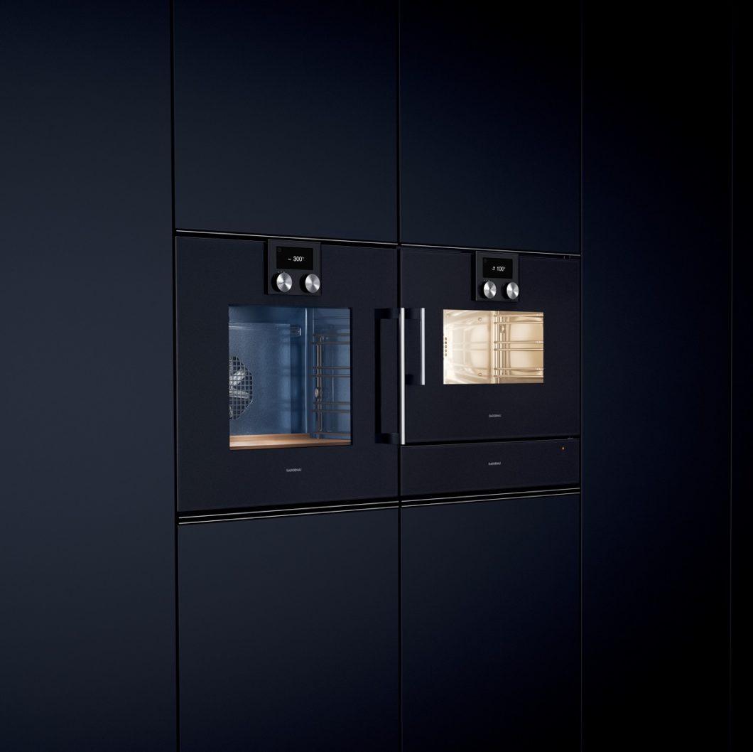 Dampfbacköfen vereinen den gesunden Kochprozess des Dampfgarens mit der Heißluft des Backofens, der für zusätzliches Gratinieren und Grillen sorgt. (Foto: Gaggenau)