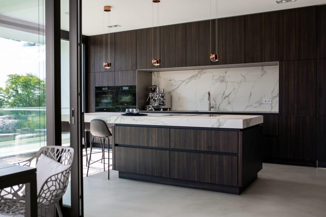 """Mit dem SieMatic """"Best of PURE""""-Design wurde dieser höchst elegante Küchenraum beim SieMatic ID Contest ausgezeichnet. (Foto: SieMatic)"""