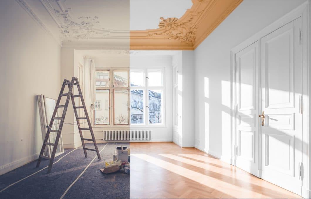 """Die """"Goldenen 20er Jahre"""" brachten die Kunst- und Stilrichtungen von Art Deco und Art Nouvea - den Jugendstil - mit sich. Heute sind Wohnungen mit reich verzierten Stuckdecken und überdimensionaler Raumhöhe wieder heiß begehrt. Wird sich der Trend auch in der Kücheneinrichtung niederschlagen? (Foto: stock/hanohiki)"""