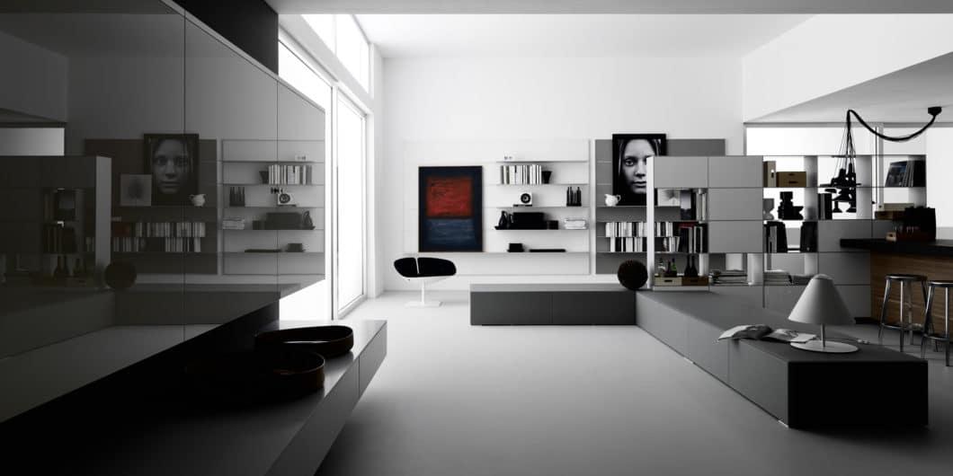 Gekonnte Farbharmonie oder eintönige Langeweile? Die Transformation vieler Küchen- zum Möbelhersteller birgt Chancen wie Risiken. (Foto: Valcucine Living)