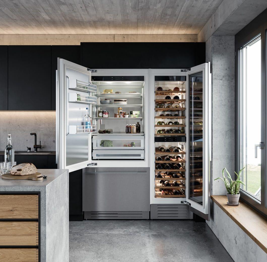 """Die """"Supreme Line"""" V6000 ist Teil der neuen Kühlgeräte von V-ZUG, die das Unternehmen für 2020 vorstellt. (Foto: V-ZUG)"""