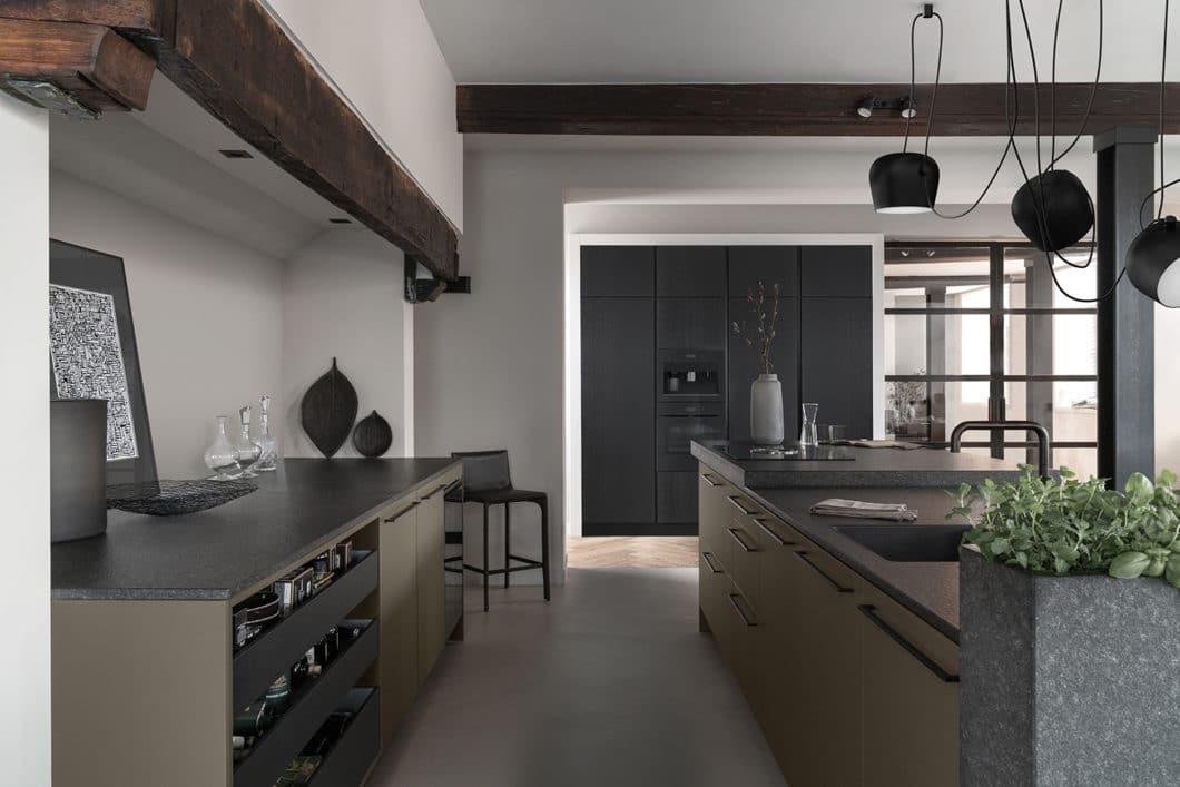 Neben der individuellen Küchenauswahl mit selektionD und den italienischen Luxusküchen von Valcucine können bei küchen+ideen Gießen auch die wunderschönen, hochwertigen Küchen von SieMatic geplant werden. (Foto: SieMatic)