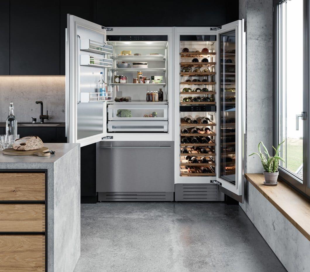 """Gleich mehrere Modelle der neuen """"SupremeLine"""" von V-ZUG überzeugen mit kompakter Größe, voluminösem Innenraum und nützlichen Funktionen im Küchenalltag. (Foto: V-ZUG)"""