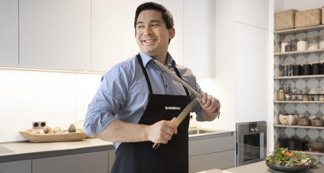 Kochen mit den Profis: auf Social Media kann man zunehmend den Markenbotschaftern von Gaggenau, V-ZUG Co. über die Schulter schauen. (Foto: Gaggenau)