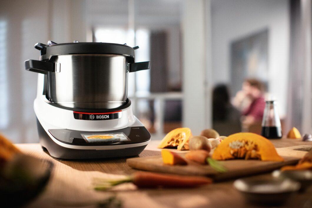 Der Cookit: smarte Küchenmaschine von Bosch (Foto: Bosch)
