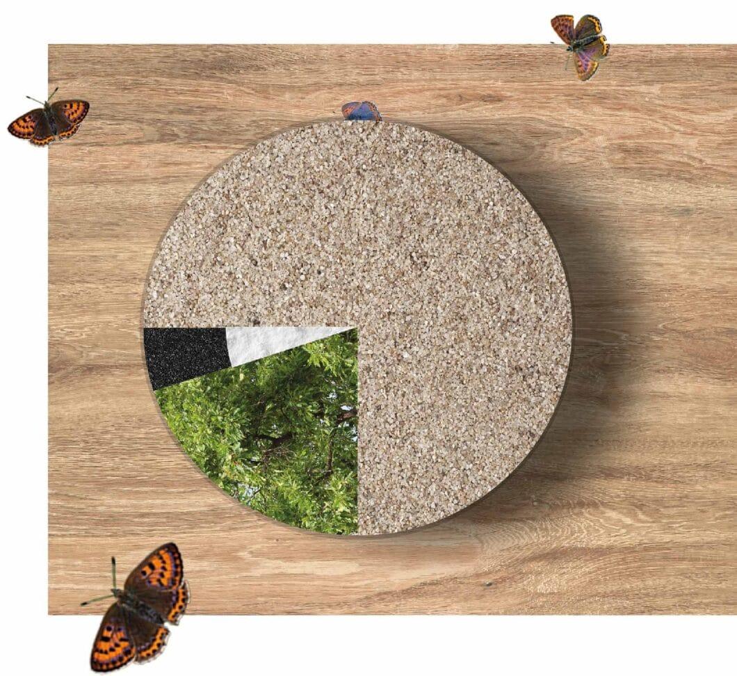 SCHOCK produziert mit der neuen CRISTADUR® GREEN LINE nicht nur Spülen, die aus regionalem Quarzsand in Deutschland gefertigt werden, sondern auch in ihren übrigen Bestandteilen zu mehr als 99% aus natürlichen Ressourcen bestehen. (Foto: SCHOCK)
