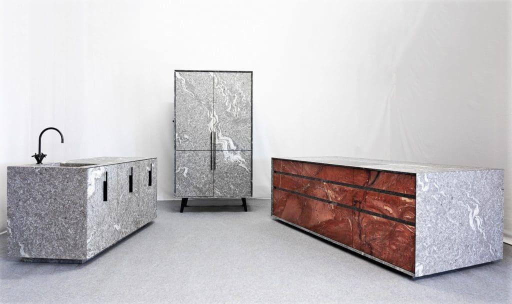 Naturstein in der Küche ist wertig, echt und höchst individuell. Für welchen Stein werden Sie sich entscheiden? (Foto: MCR)