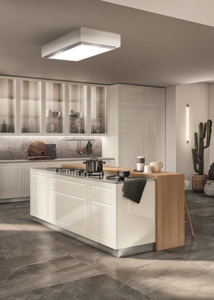 Scavolini setzt auf umweltfreundliche Küchenproduktion und nachhaltige Materialien. Das kommt auch bei jungen Käufern gut an. (Foto: Scavolini - Carattere)